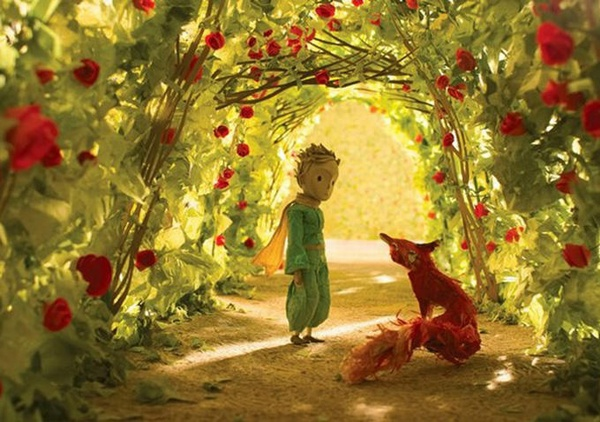 《小王子》:狐狸和玫瑰
