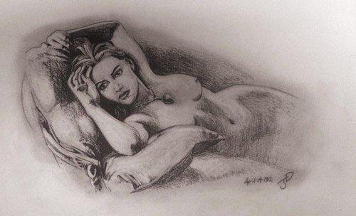 詹姆斯铅笔画